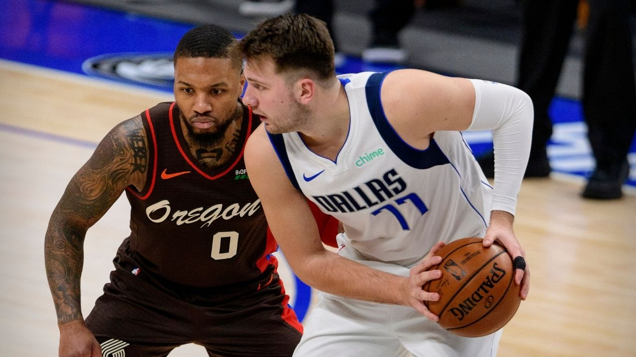 """""""Damian Lillard was more deserving of the All-Star starting spot than me"""": Luka Doncic admits that he was surprised that he was chosen to start in the All-Star Game over Portland superstar"""
