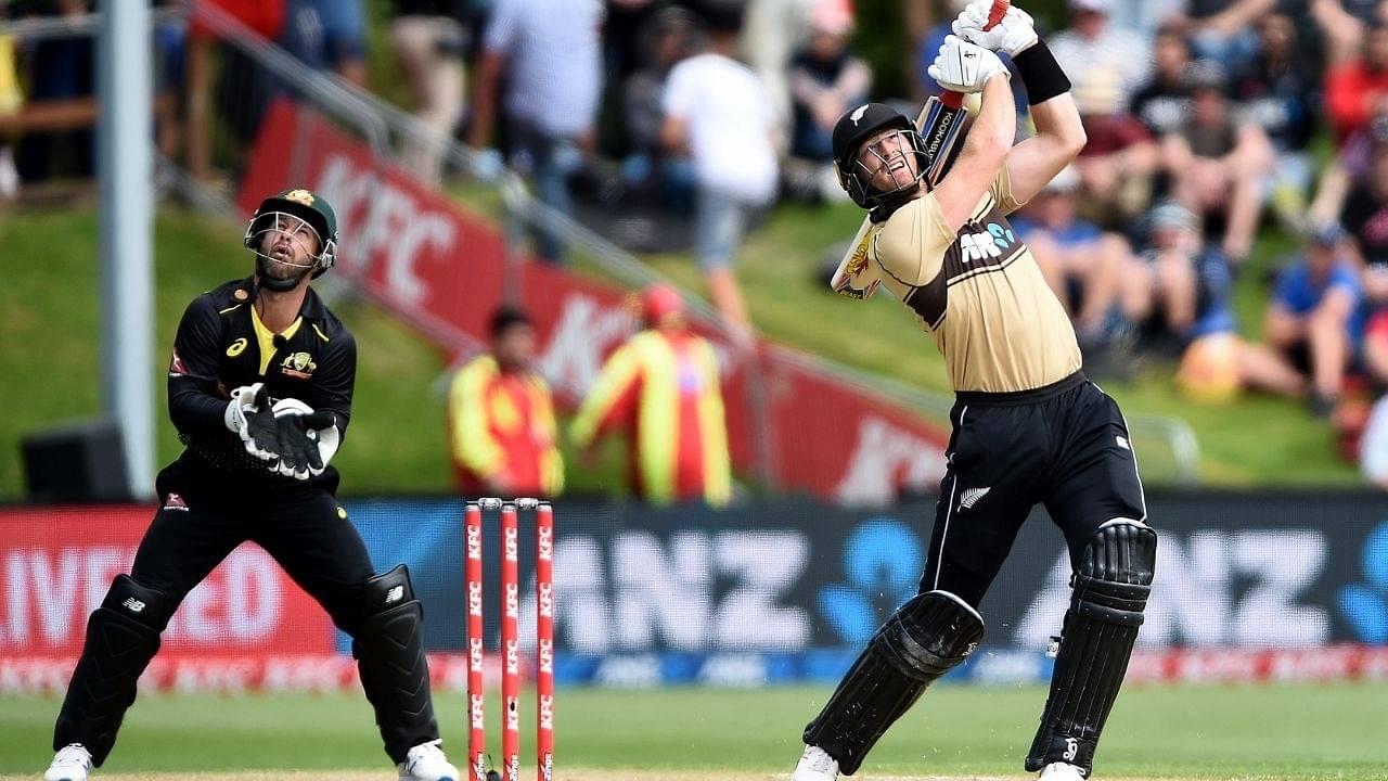 """""""Enormous hitting"""": Martin Guptill returns to form despite narrowly missing 3rd T20I century in Dunedin T20I"""