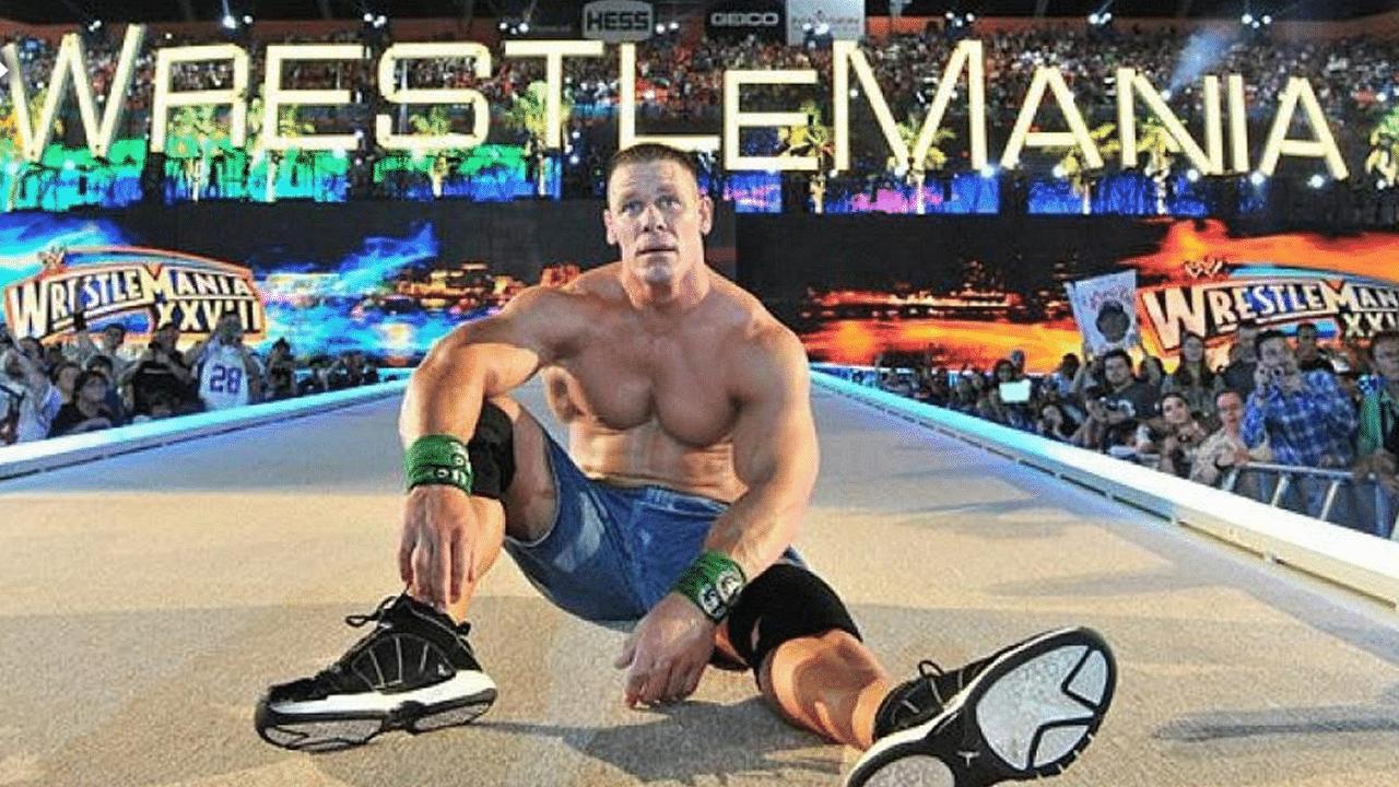 WWE and John Cena address Wrestlemania 37 availability