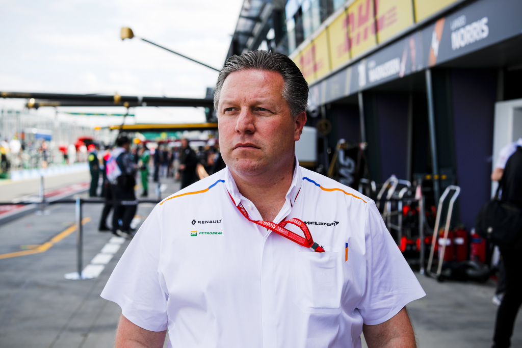 """""""Teams in third to seventh took a turn at being the third-quickest team"""" - McLaren boss Zak Brown hoping to close gap on Mercedes this season"""