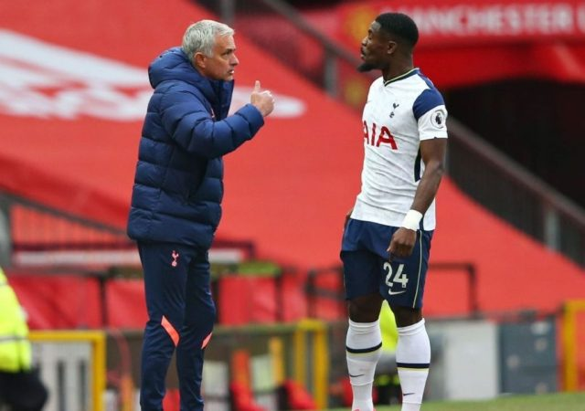 """""""I was about to say it. 'Pick someone else!"""": Serge Aurier Reveals Details Of Tiff With Jose Mourinho"""