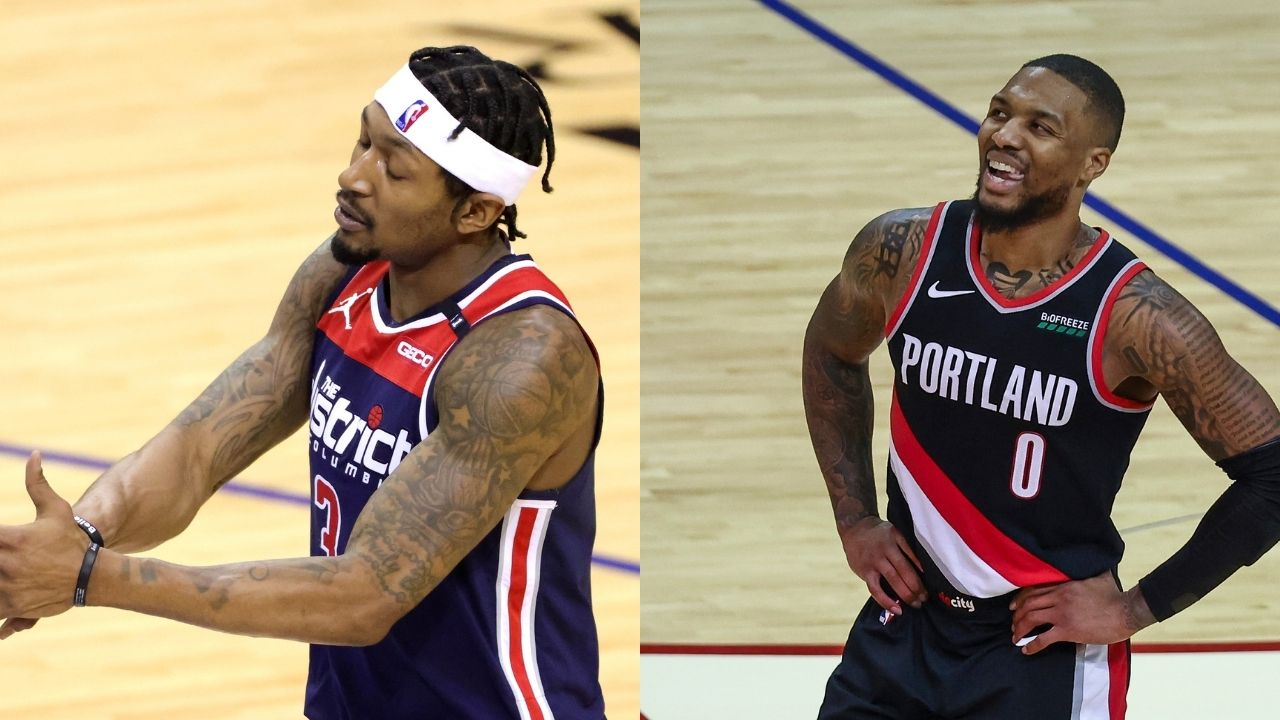 """""""Box score fans are the worst!"""": Bradley Beal and Damian Lillard go off on NBA 'casuals' for clowning Russell Westbrook and co. during early stages of game vs Nets"""