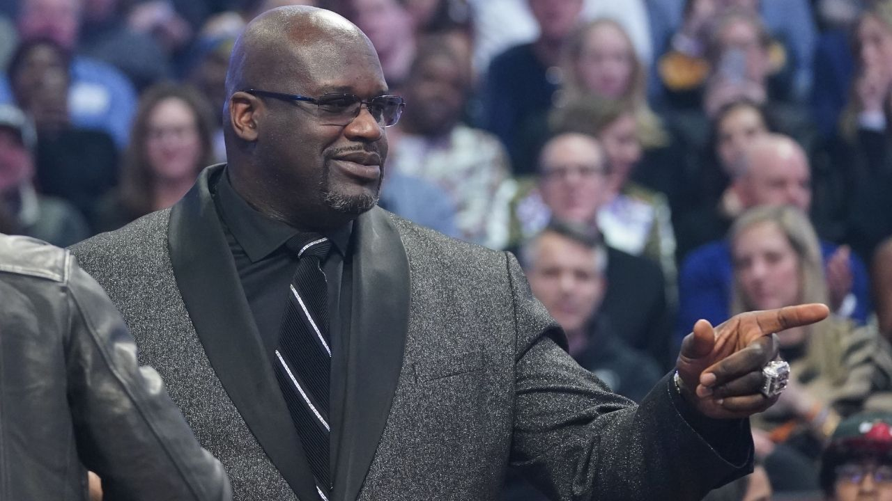 """""""I never hate on players, it's only constructive criticism"""": Shaquille O'Neal defends his harsh takes on players such as Donovan Mitchell, JaVale McGee and Dwight Howard"""
