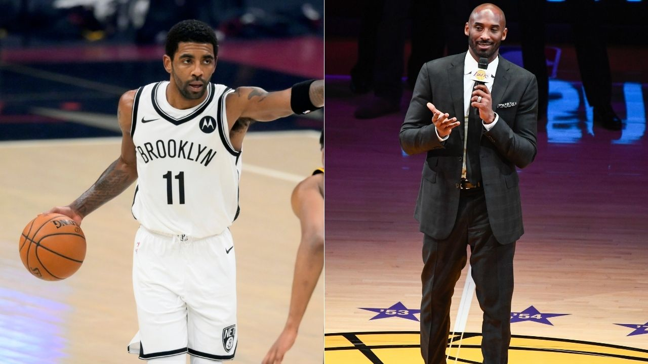 """""""Even Michael Jordan would want Kobe Bryant to be the NBA logo"""": Kendrick Perkins backs Kyrie Irving on his request to replace Jerry West as the NBA logo"""