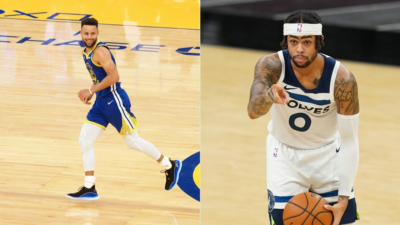 """""""Stephen Curry isn't the Warriors' MVP, it's D'Angelo Russell"""": NBA analysts mock Timberwolves for Andrew Wiggins trade after their star guard goes down to injury"""