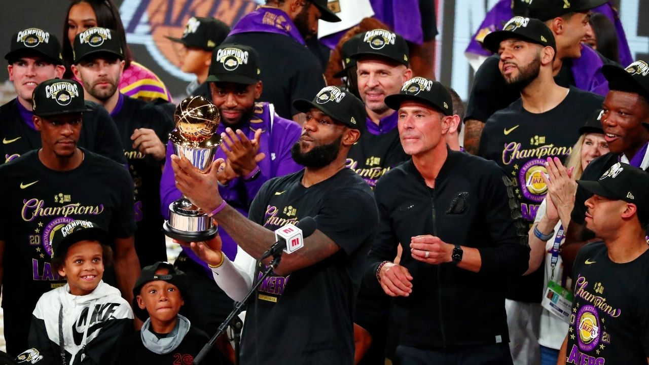 """""""LeBron James, Lakers didn't have fans to cheer them on"""": Gilbert Arenas breaks down why the Lakers' 2020 title was the hardest in NBA history"""