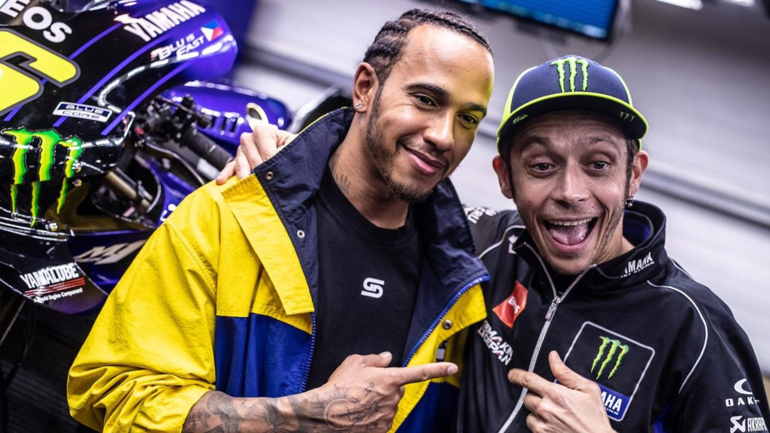 """The subject of money is always central"" - MotoGP legend Valentino Rossi is happy Lewis Hamilton has re-signed for Mercedes"