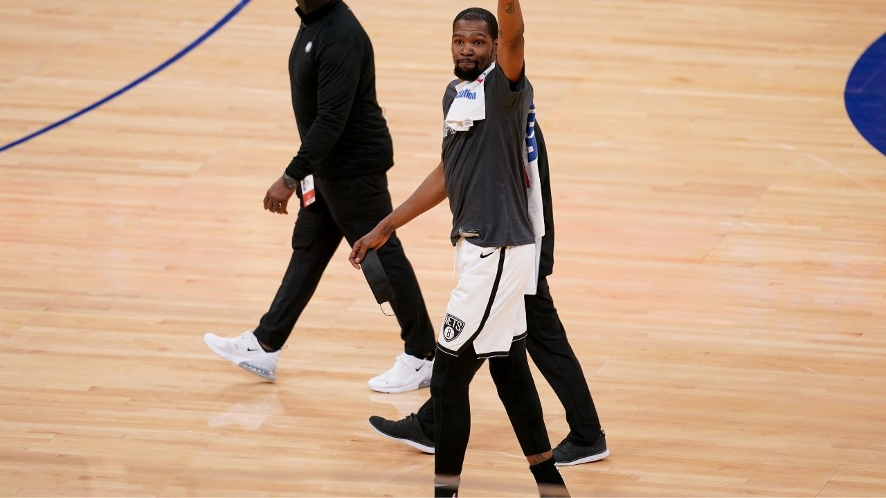 Is Kevin Durant playing tonight vs Lakers? Brooklyn Nets release hamstring injury update for the Slim Reaper ahead of matchup against LeBron James and co