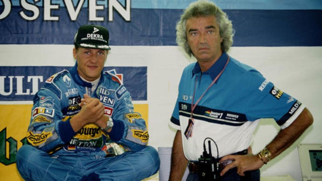 """I decided to have Michael Schumacher""- Why Benetton chose Schumacher over more rated prospects?"