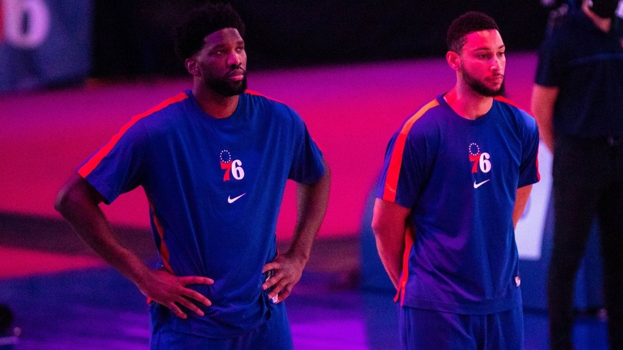 'Joel Embiid is figuring out how dominant he can be': Ben Simmons is bullish about his teammate's dominance and his MVP chances based on this year's performances