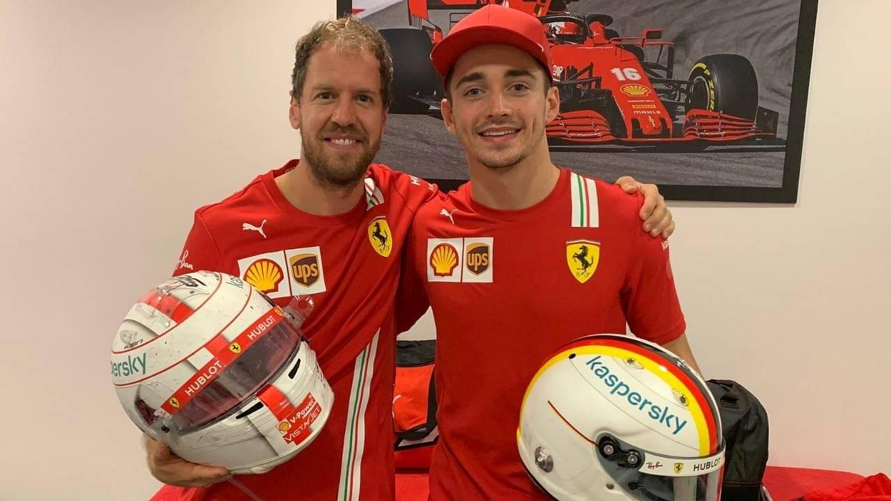 """Leclerc has more potential""- Fernando Alonso on Charles Leclerc Vs Sebastian Vettel in Ferrari"