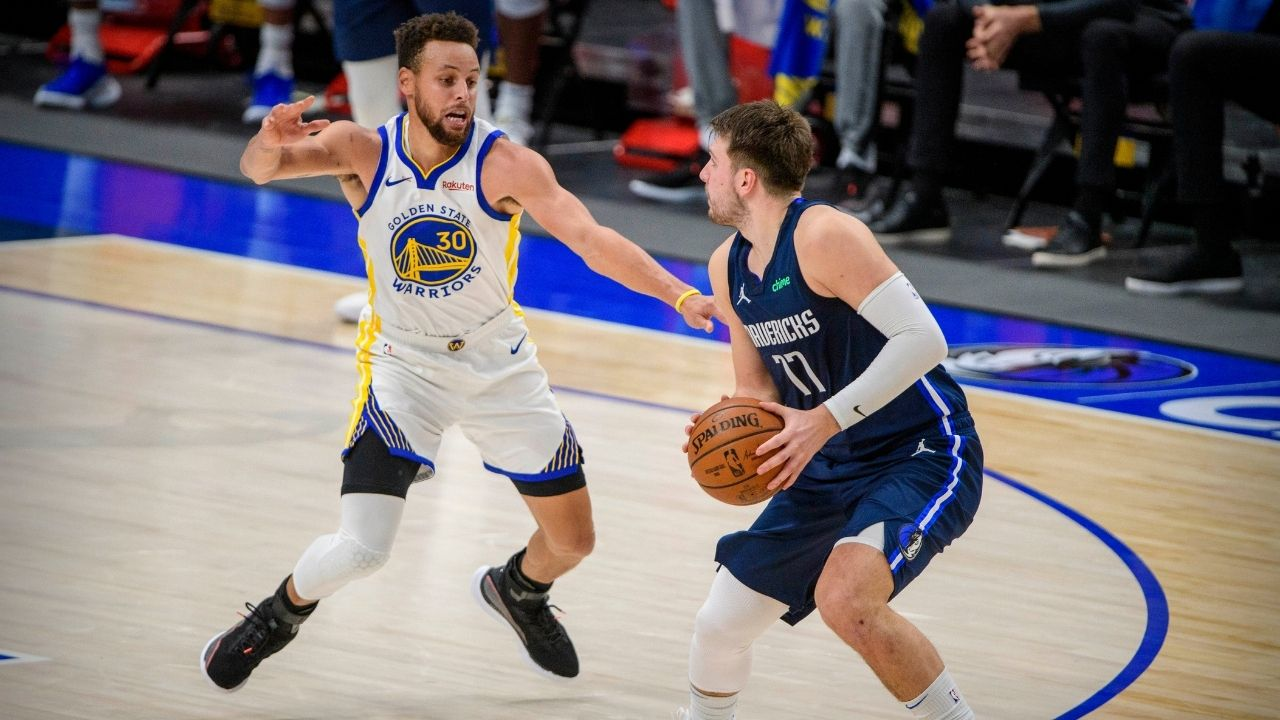 """Whenever Stephen Curry shot the ball, I thought it was going in"": Luka Doncic raves about Warriors legend's stellar shooting in loss to Mavericks last night"