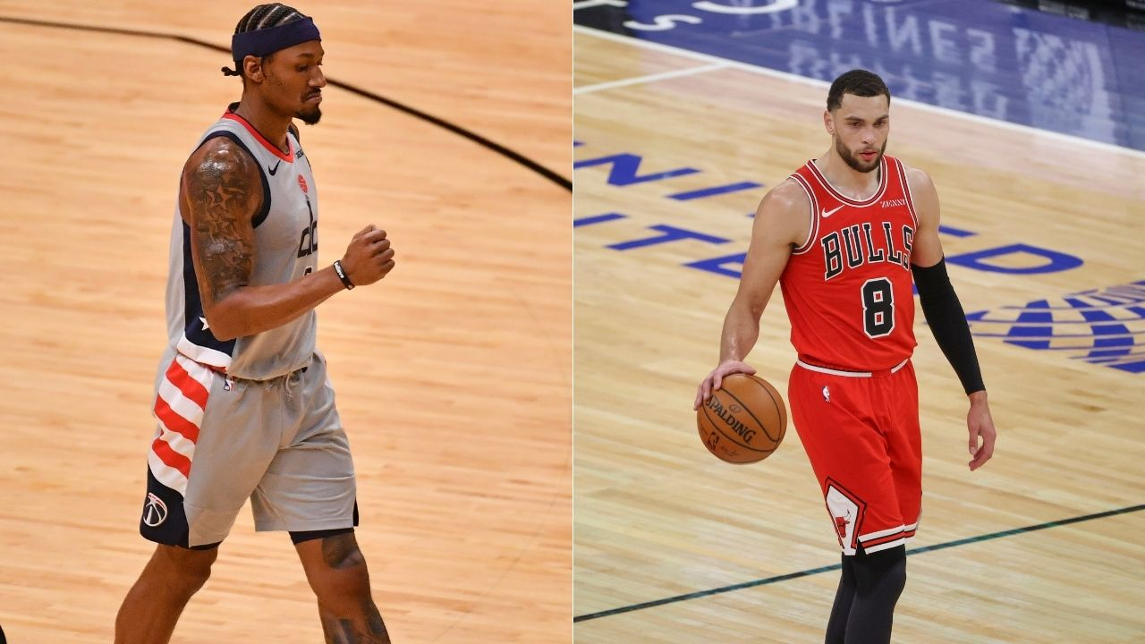 'Zach LaVine has my vote, hands down': Wizards' Bradley Beal is high on the Bulls star after outdueling him last night