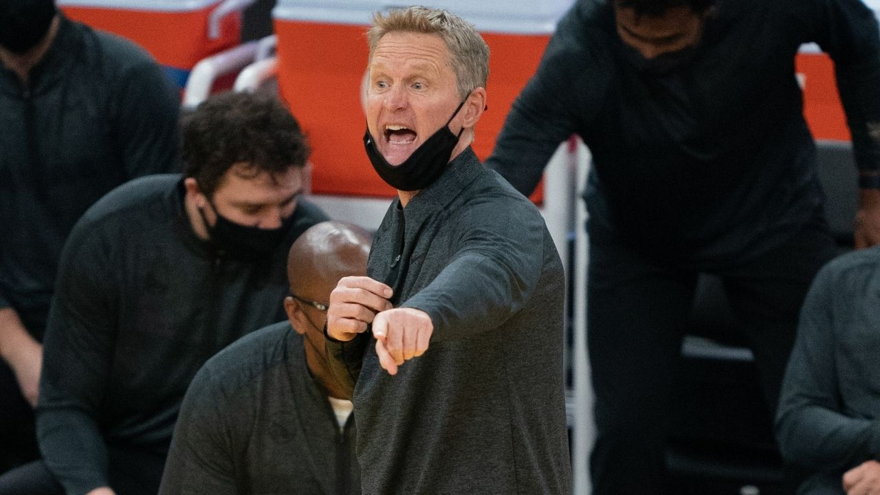 """Warriors Head Coach Steve Kerr speaks up about how flopping is ruining the NBA: """"We could improve the quality of play just by getting rid of flopping"""""""