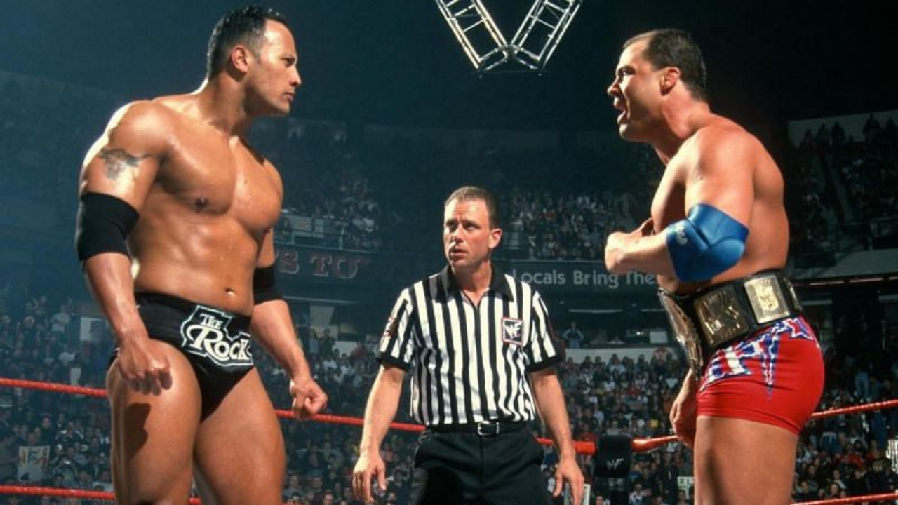 Kurt Angle reveals his character was modeled after the Rock