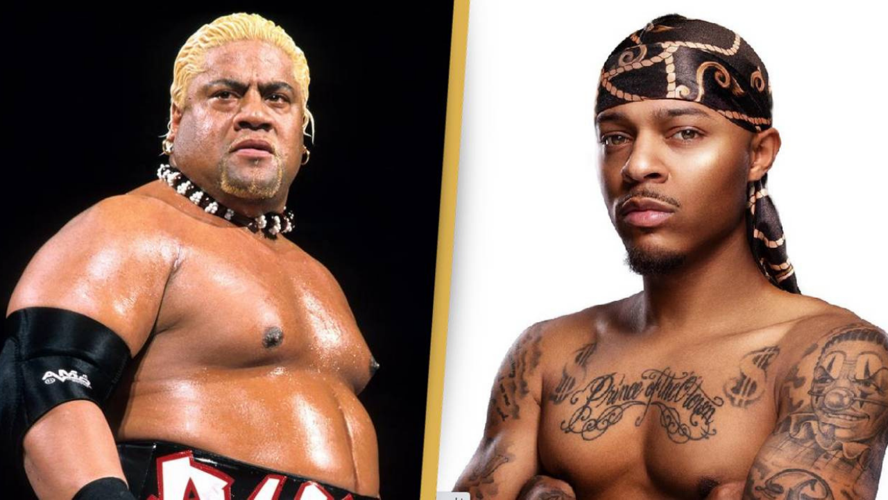 Rapper Bow Wow training with Rikishi for WWE Debut