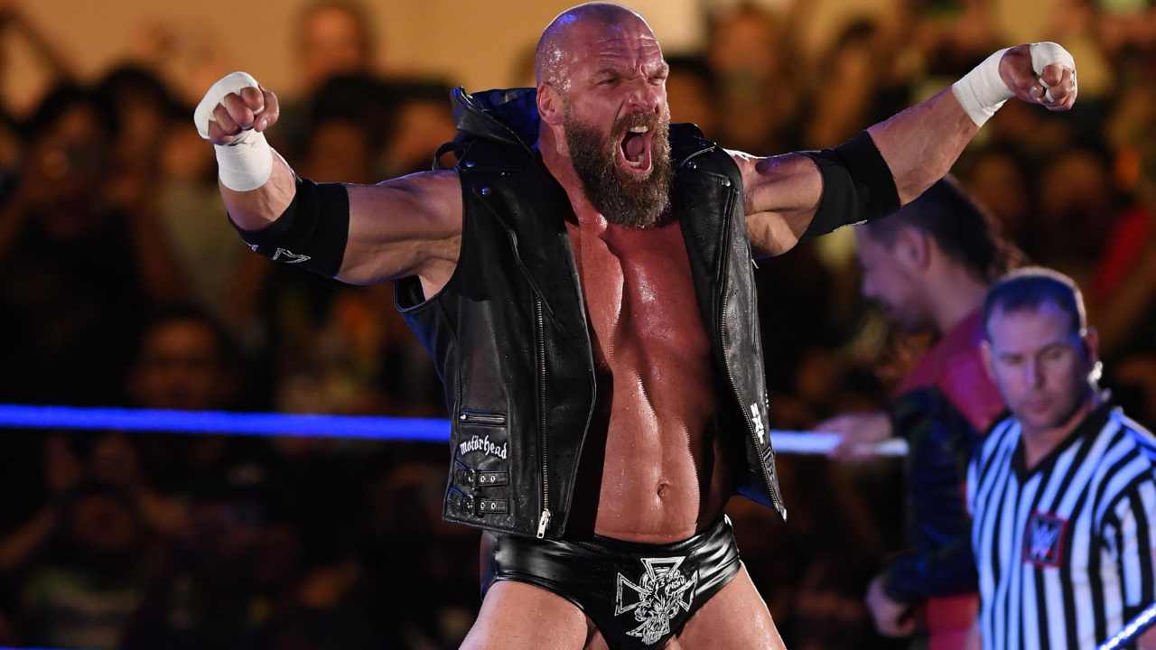 Triple H challenges NFL Star for a match at WWE NXT