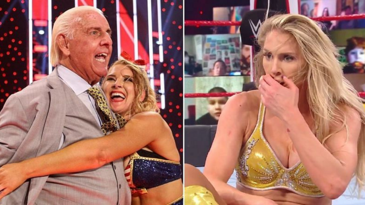 Ric Flair reveals Charlotte Flair was not too pleased with Lacey Evans storyline