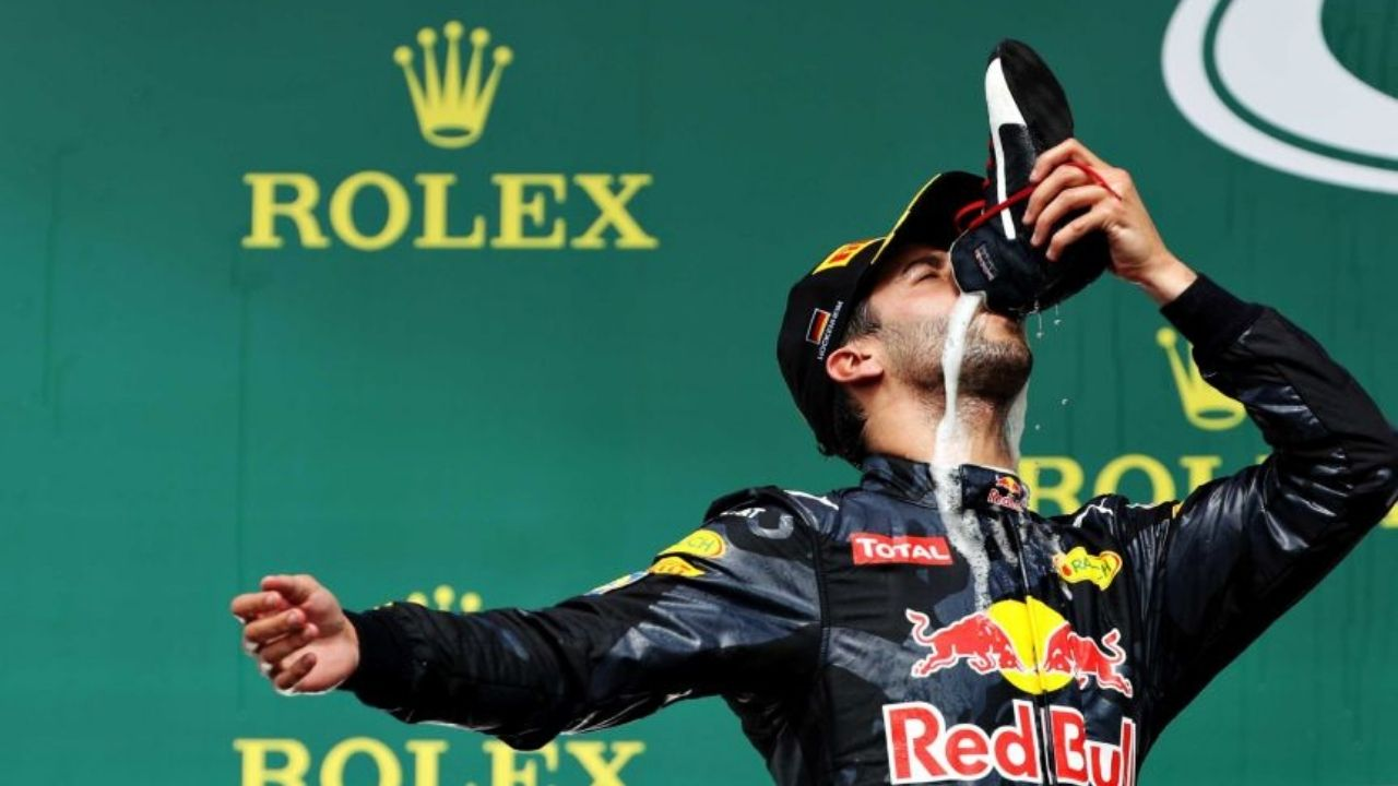 """""""I would do a shoey""""- Lando Norris agrees to celebrate like Daniel Ricciardo but on two conditions"""