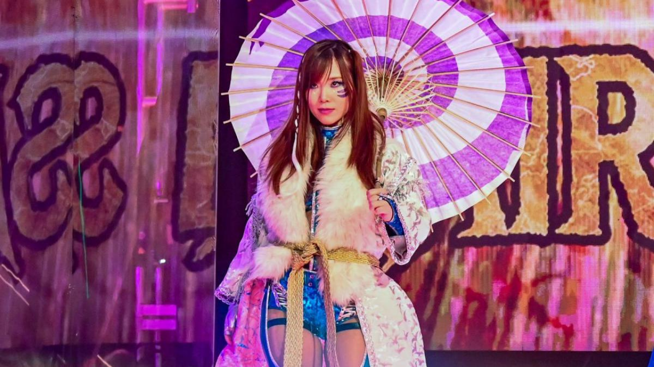 WWE prevents Kairi Sane from wrestling for a Japanese promotion