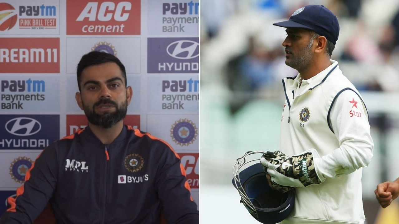 """""""That record means nothing to me"""": Virat Kohli brushes aside captaincy comparison after equaling MS Dhoni's record"""