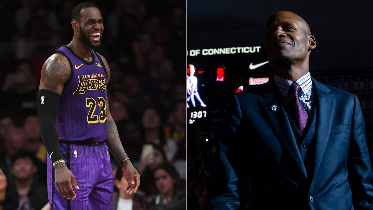 """""""LeBron James made light of it with a goofy face"""": Ray Allen reveals how he once took the Lakers star for a pedicure at Beverly Hills despite the stigma"""
