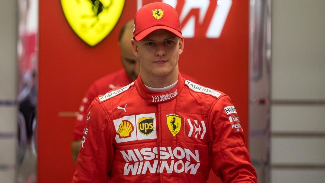 """My dad""- Mick Schumacher responds to F1's Instagram post"