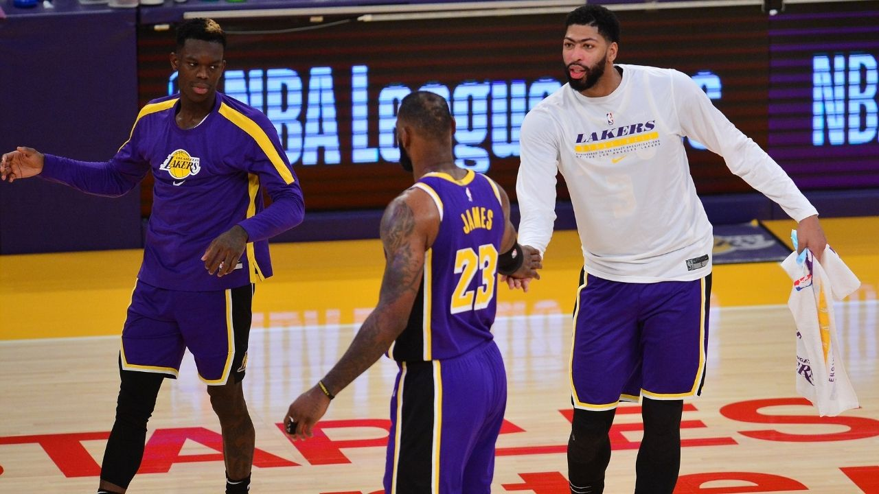 """""""Anthony Davis allows LeBron James to play like an MVP"""": Richard Jefferson is skeptical about the Lakers' chances at defending championship without AD at 100%"""