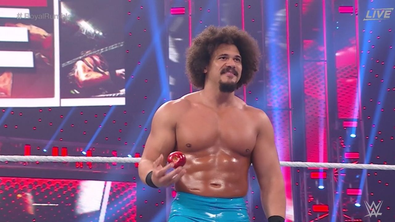 Carlito Makes a Surprise Entry At Men's Royal Rumble Match 2021