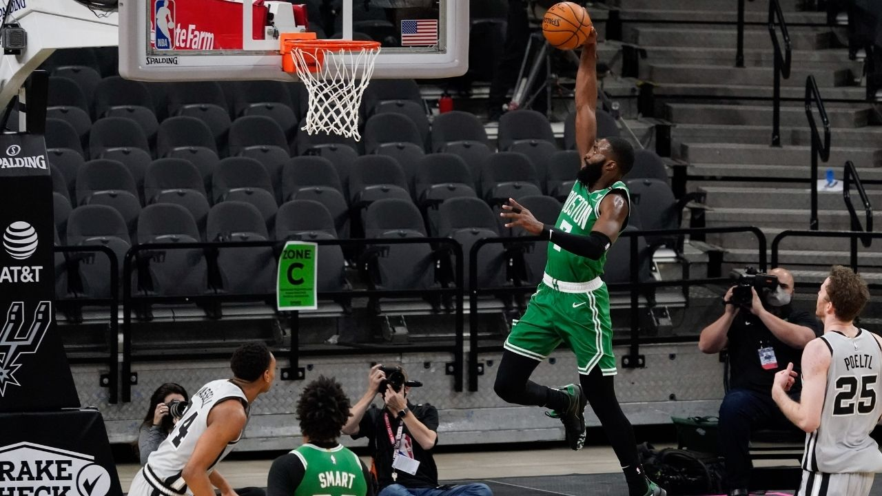 Is Jaylen Brown playing tonight vs Suns? Celtics release knee injury update ahead of game against Chris Paul and co