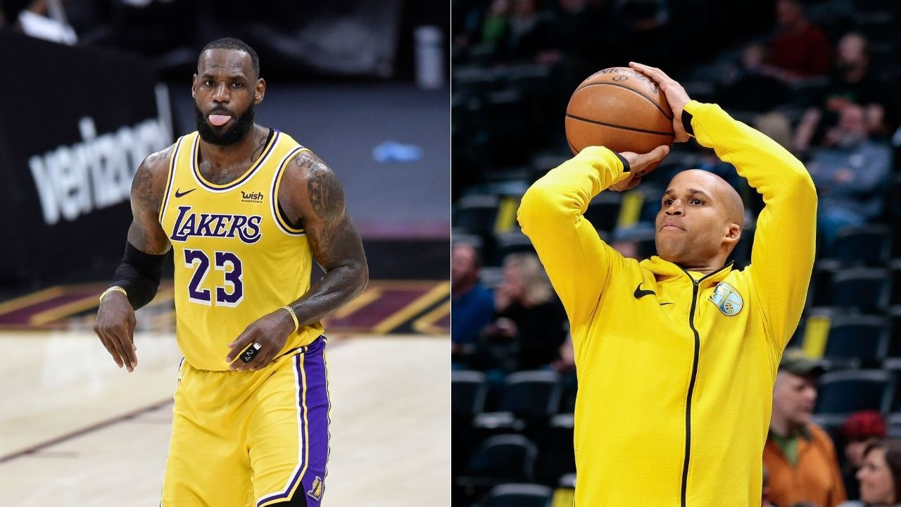 """""""Richard Jefferson did LeBron James dirty"""": Nets announcer and dear friend of the Lakers star pranks him by liking Courtside Karen's pics"""