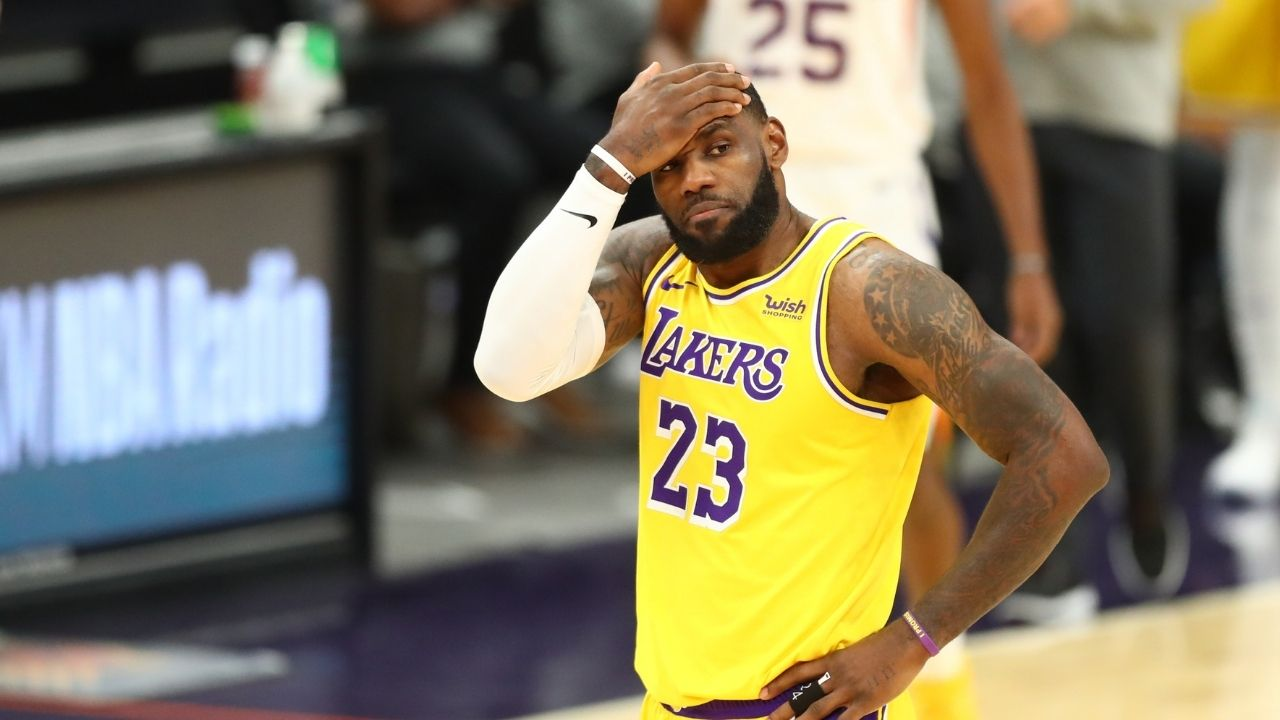 """""""The game will let me know when to retire"""": LeBron James explains why he has not set a timetable for his retirement after his Lakers contract expires in 2023"""