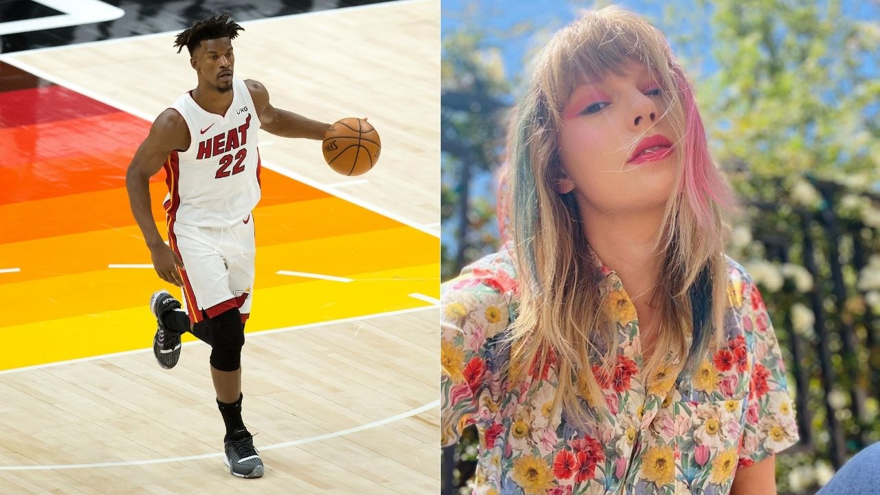 """""""Taylor Swift rated Jimmy Butler 13/10"""": Dwyane Wade ridicules the Heat star for an old video of Butler dancing to Swift's hit song '22'"""