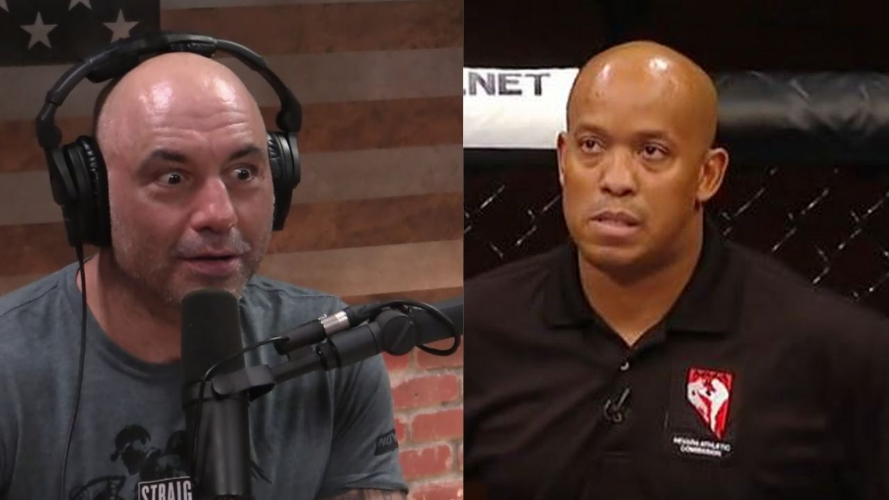 'UFC referees have to know the fighters': UFC Ref Mark Smith Explains Joe Rogan On When To Stop The UFC Fight