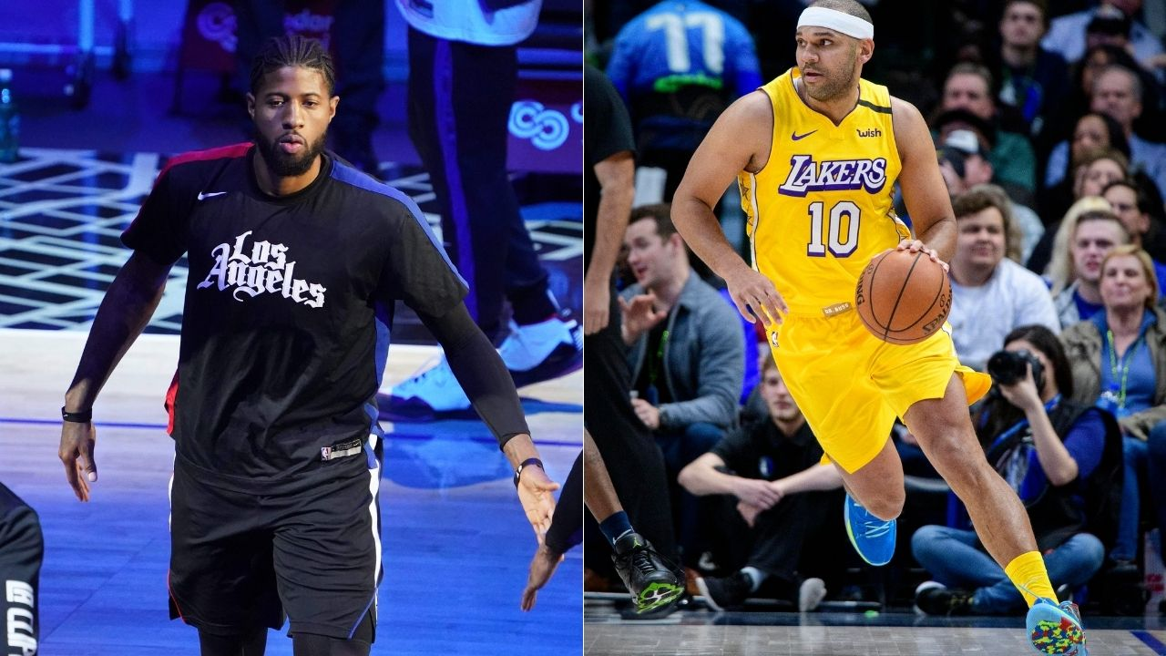 """God bless you Jared Dudley"": Paul George replies to shots from 35-year-old Lakers forward in his new book 'Inside the NBA bubble'"