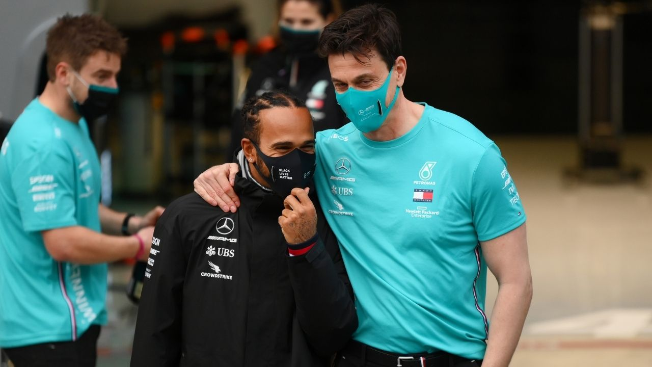 """Nonsense stories""- Lewis Hamilton never made unrealistic demands says Toto Wolff"