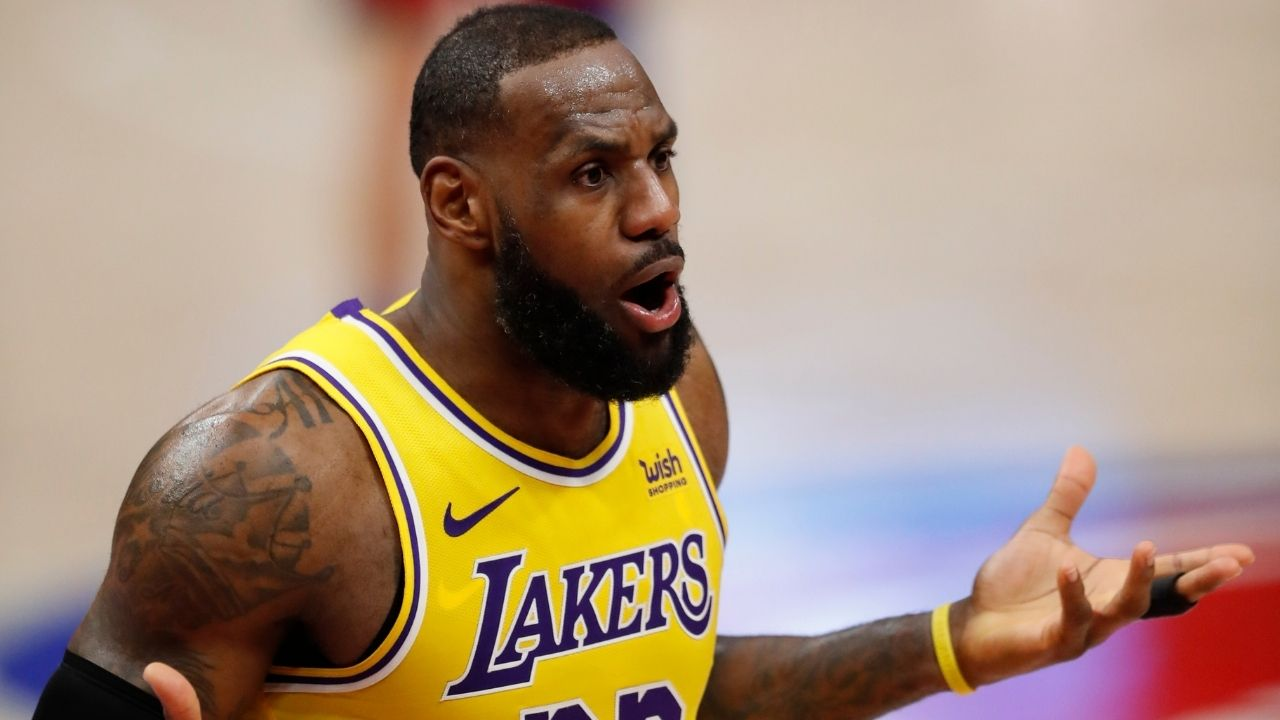 """Only baked chicken wings"": LeBron James hilariously explains how he takes care of his diet in his final years with the Lakers"