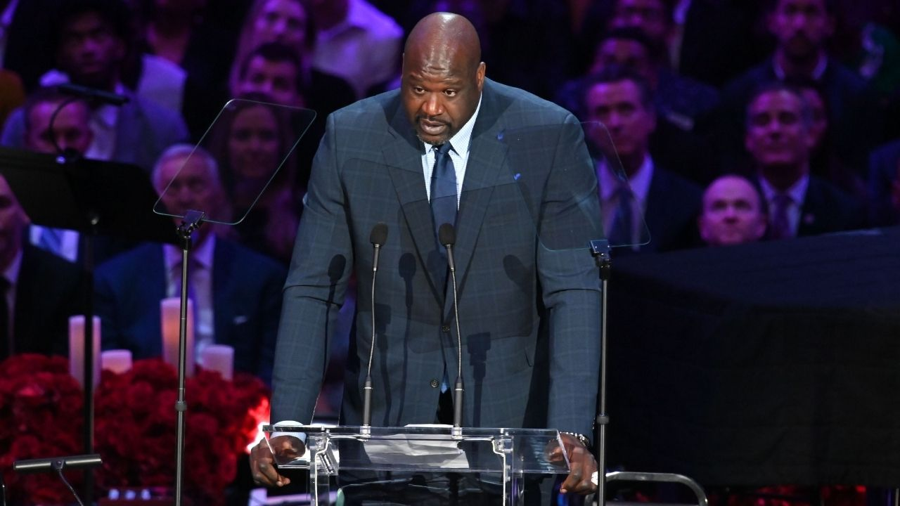 """""""Shaq has to be joking!!"""": Kendrick Perkins reacts to Lakers legend Shaquille O'Neal making an odd comparison for Nikola Jokic"""