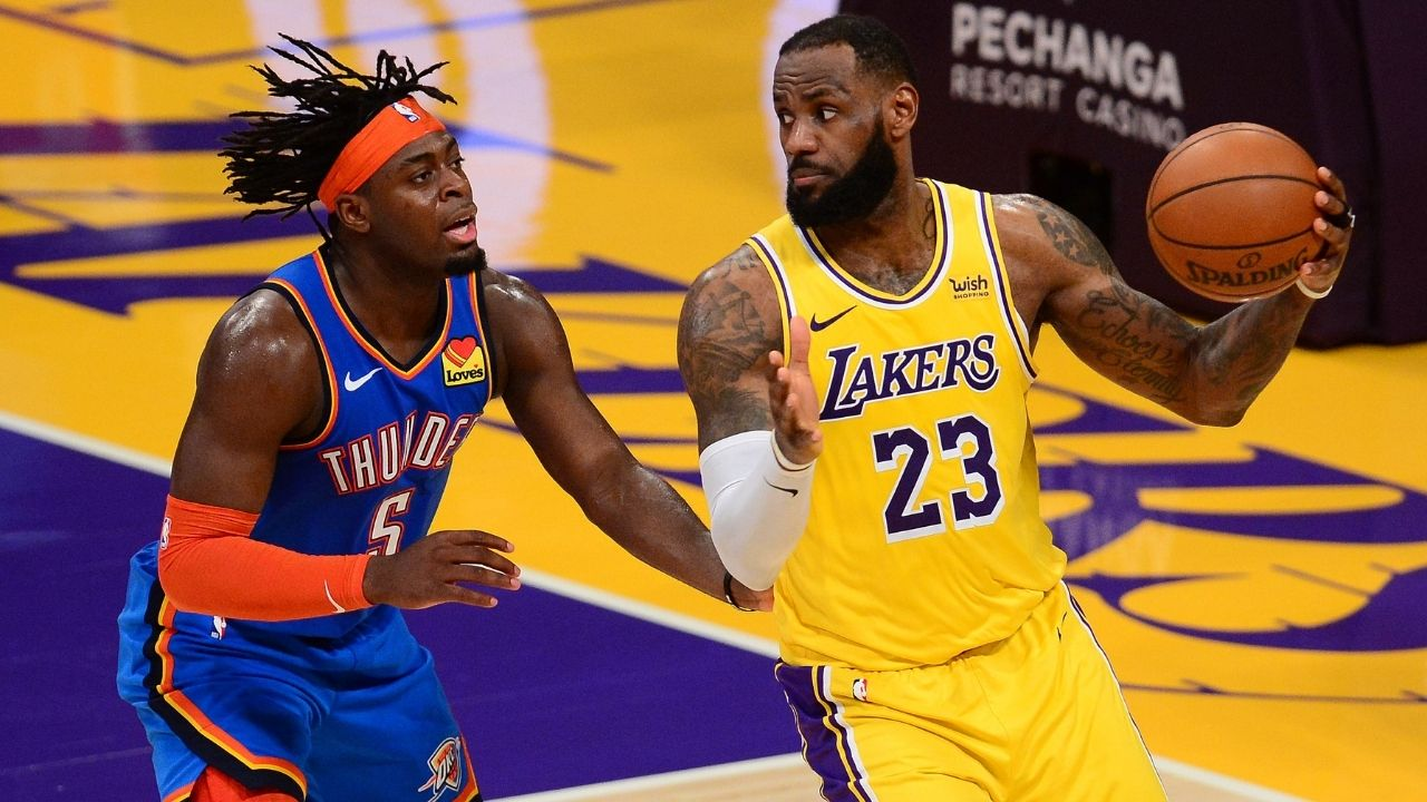 """""""Luguentz Dort made LeBron James shoot an airball"""": Watch how Thunder guard locked down the Lakers star with some clutch defense in overtime loss"""