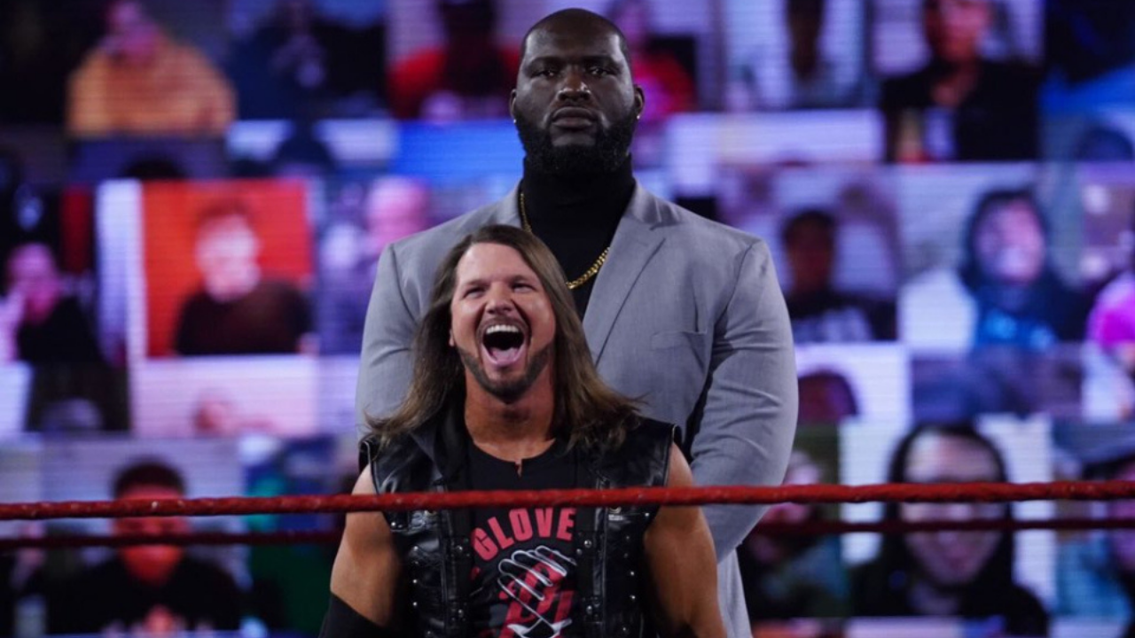 AJ Styles Bodyguard Who is AJ Styles' bodyguard Here's everything you need to know about the 7'3 wrestler