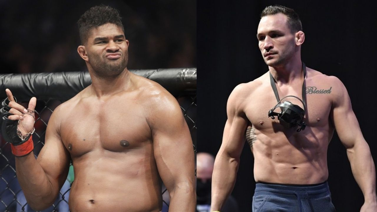 """""""Definitely better than Michael Chandler"""": Alistair Overeem addresses comparisons between his UFC debut and Michael Chandler's"""