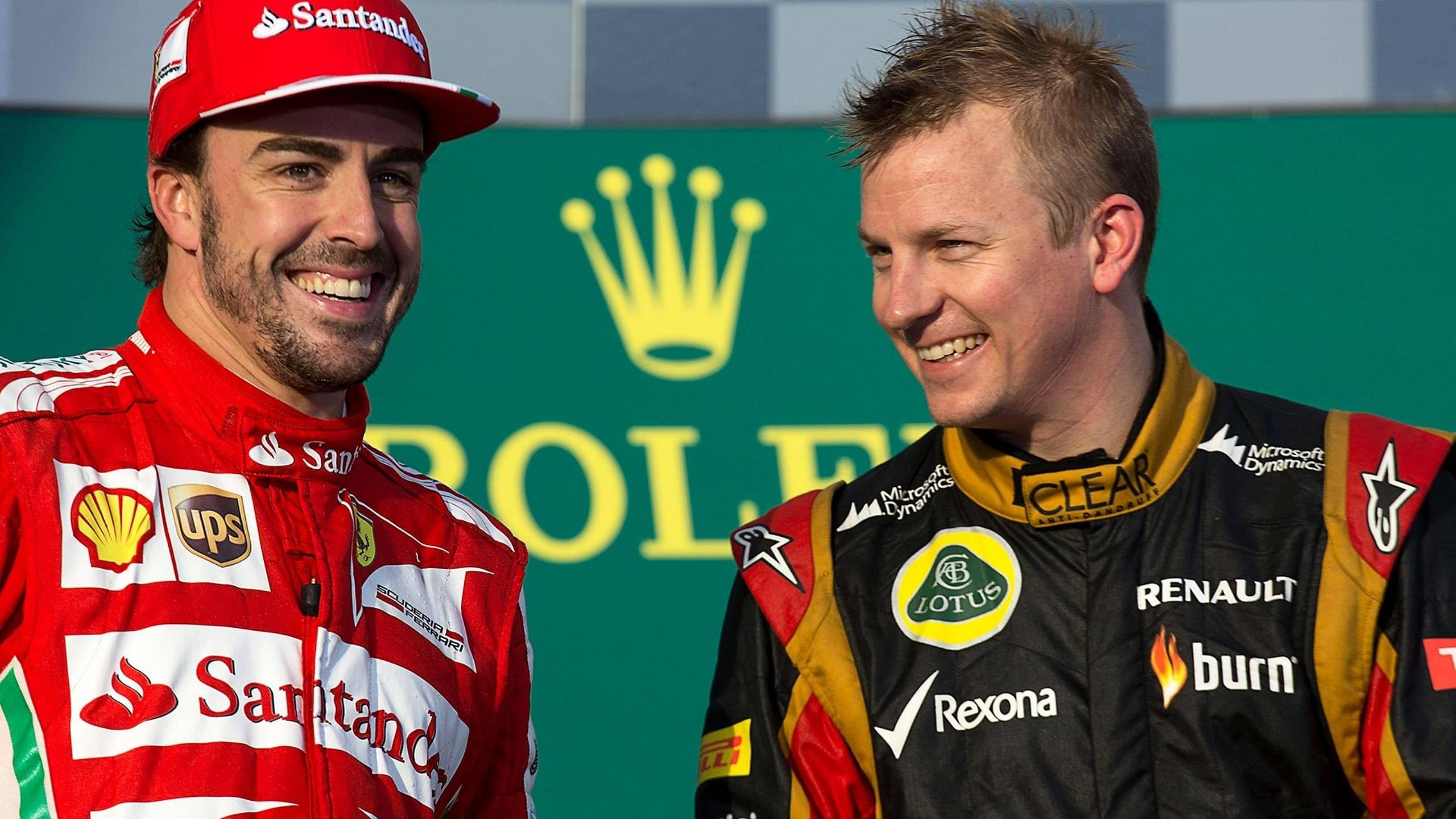 """We spent more time together"" - Romain Grosjean reveals his favorite teammate between Kimi Raikkonen and Fernando Alonso"
