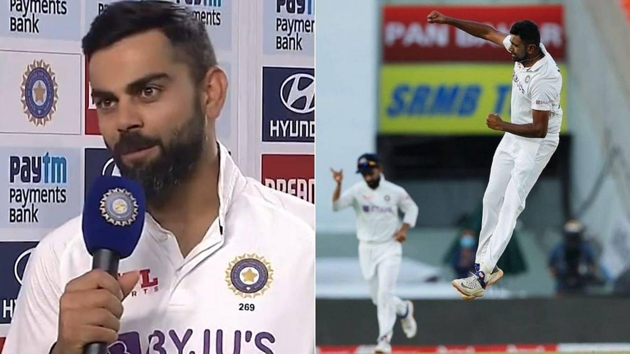 """Modern-day legend"": Virat Kohli expresses admiration for R Ashwin who picks 400th wicket in Ahmedabad Test"