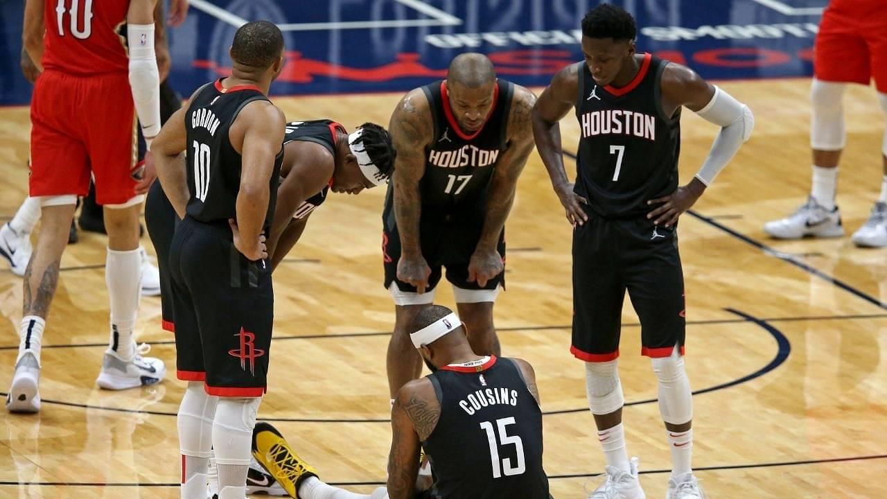 """I'm having a blast, I'm having fun"": Houston Rockets head coach Stephen Silas buoyant after his team sets franchise record despite losing James Harden"