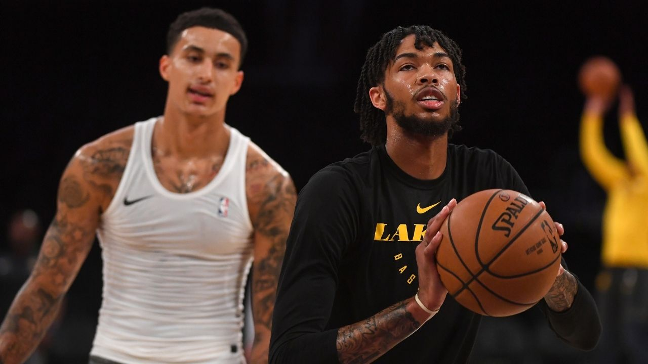 """""""LeBron James would have traded Kyle Kuzma if he were any more valuable"""": Shannon Sharpe rips apart the 25-year-old for his poor play for the Lakers this year"""