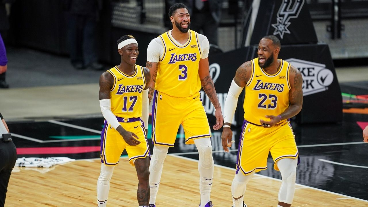"""""""Without Anthony Davis, the Lakers have no rim protection and give up uncontested 3s"""": Shannon Sharpe goes off on LeBron James and co. in AD's absence"""