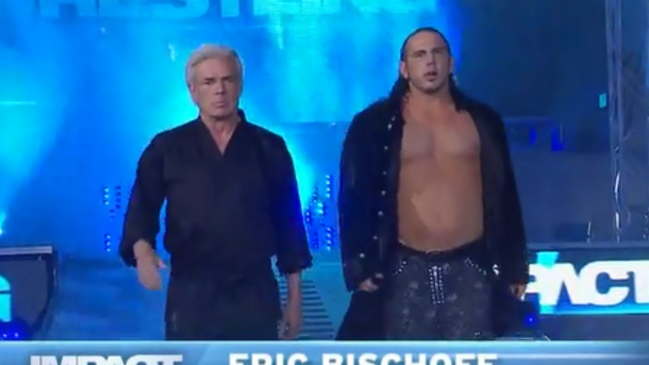 Eric Bischoff discusses issues with Matt Hardy during their time at TNA.