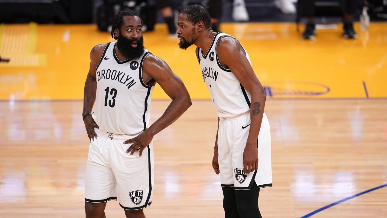 """""""You're a fearful Lakers fan if you think James Harden and the Nets don't play defense"""": Skip Bayless sides with Brooklyn following their blowout victory over Steph Curry and the Warriors"""