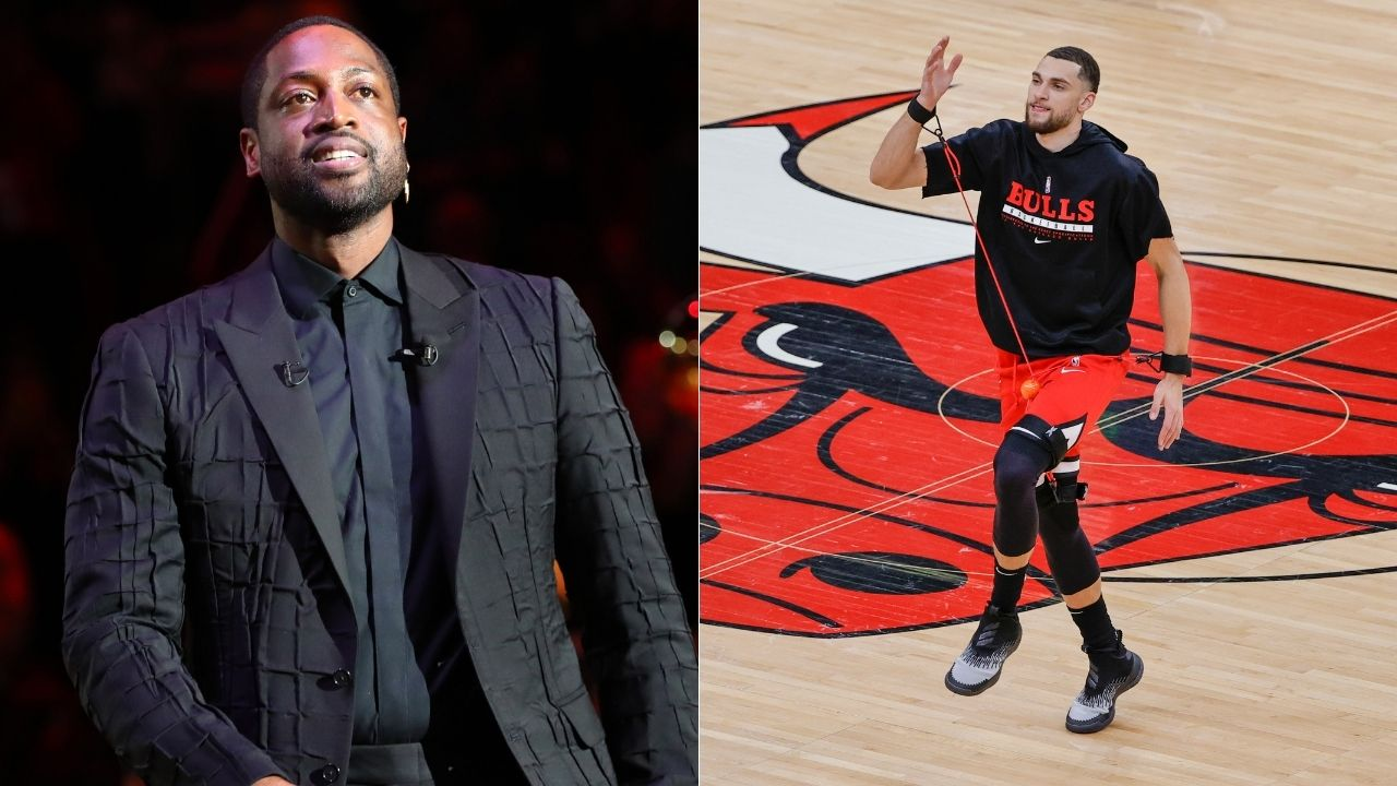 """""""I'm proud of Zach LaVine like he's my own son"""": Dwyane Wade's wholesome tweet after the Bulls star earns his first All-Star nod"""