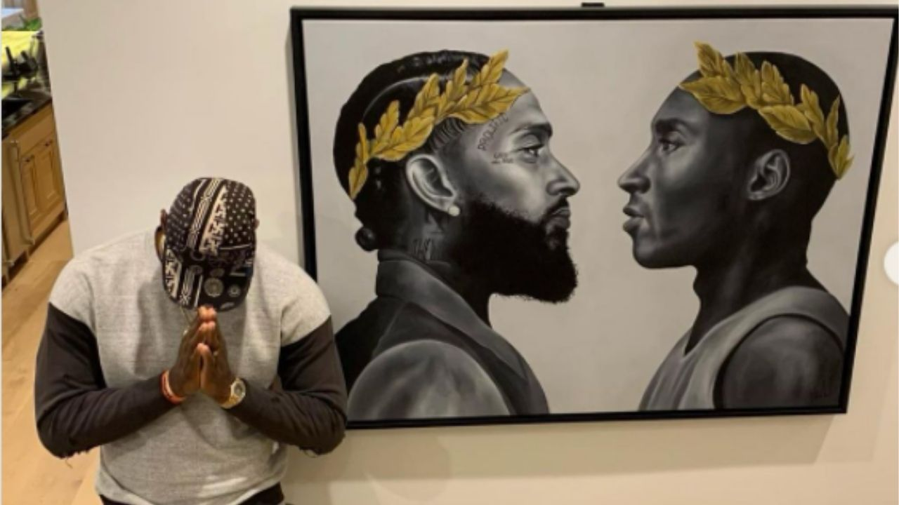 """RIP Nipsey and Kobe, Legends never die"": Lakers' LeBron James shares an Instagram post to show how he honors Nipsey Hussle, Kobe Bryant everyday"